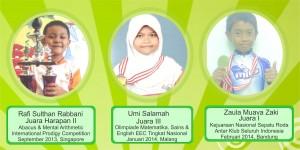 Para Juara tingkat Nasional - Internasional Semester 2 Tapel 2013-2014